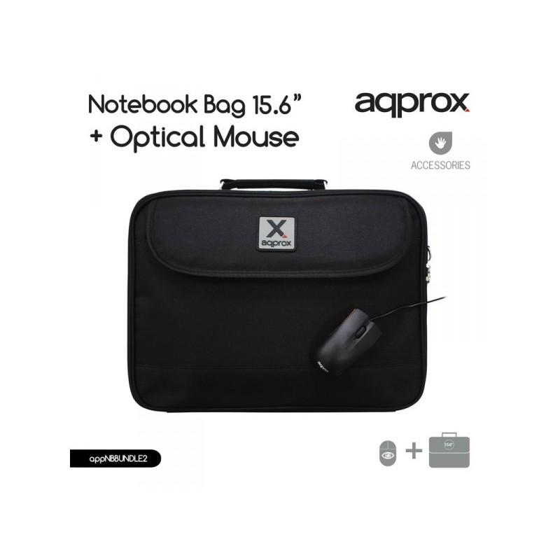 ΤΣΑΝΤΑ LAPTOP APPROX 15 6   και  USB OPTICAL ΠΟΝΤΙΚΙ